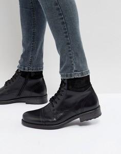 Черные ботинки на шнуровке ALDO Senehauz - Черный