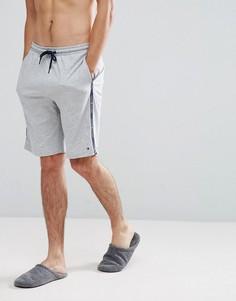 Серые меланжевые шорты для дома с логотипом на ленте Tommy Hilfiger - Серый