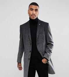 Пальто с эффектом омбре Noose & Monkey - Серый