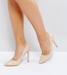Туфли-лодочки на каблуке для широкой стопы Truffle Collection - Бежевый