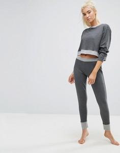 Пижама со свитшотом и леггинсами Lazy Days - Серый