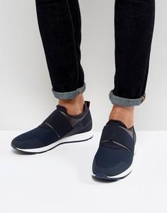 Синие кроссовки HUGO by Hugo Boss Hybrid - Синий
