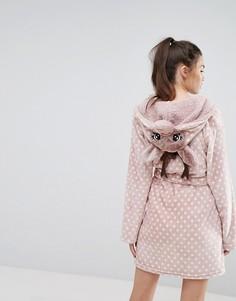 Новогодний халат Рудольф Loungeable - Коричневый