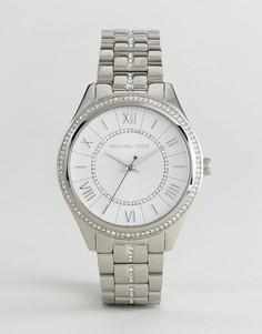 Серебристые наручные часы Michael Kors MK3718 - Серебряный