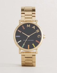 Классические наручные часы с золотистым браслетом Marc Jacobs MJ3567 - Золотой