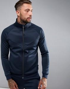 Спортивная куртка на молнии Dissident - Темно-синий