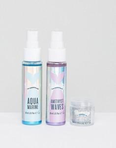 Mermaid - Набор для ухода за волосами с блестками - Бесцветный Beauty Extras