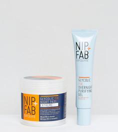 Два ночных средства с гликолевой кислотой NIP+FAB эксклюзивно для ASOS - СКИДКА 33 - Бесцветный