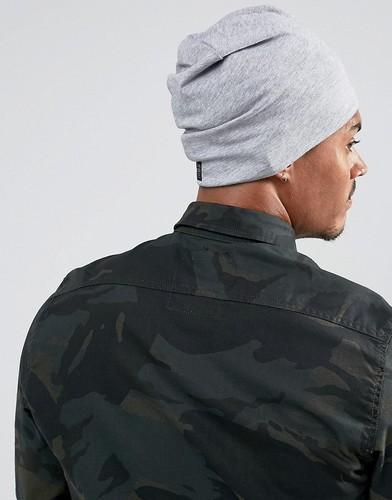 Серая шапка-бини G-Star Daber - Серый