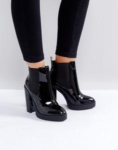 Массивные ботинки челси ASOS ELBON - Черный