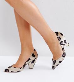 Tуфли для широкой стопы с острым носком ASOS SULPHUR - Мульти