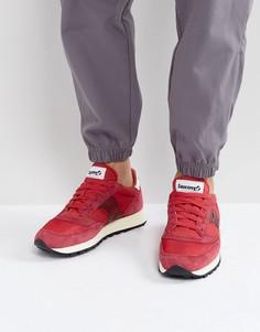 Красные кроссовки в винтажном стиле Saucony Jazz Original S70368-6 - Красный