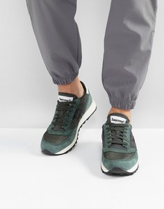 Зеленые кроссовки Saucony Jazz Original Vintage S70368-8 - Зеленый