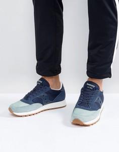 Синие кроссовки Saucony Jazz Original S2044-408 - Синий