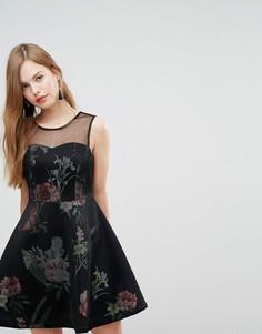 Платье А-силуэта New Look - Черный