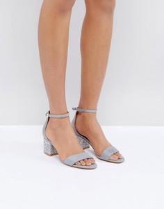 Босоножки на каблуке с отделкой ALDO - Синий