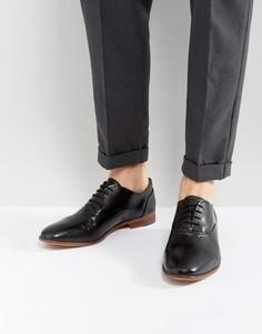 Черные кожаные ботинки KG Kurt Geiger Oliver - Черный