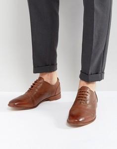 Светло-коричневые кожаные ботинки KG Kurt Geiger Oliver - Рыжий