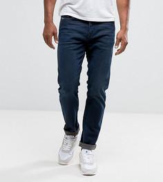 Классические джинсы цвета темного индиго с суженными книзу штанинами Diesel Buster 0857Z - Синий