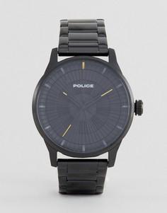 Черные часы Police - Черный