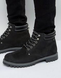 Черные замшевые ботинки Jack & Jones Stoke - Черный