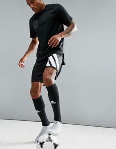 Черные спортивные шорты с принтом в стиле 90-х adidas Football AZ9711 - Черный