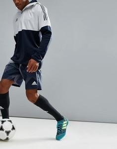 Серые шорты с принтом adidas Football CE9573 - Серый
