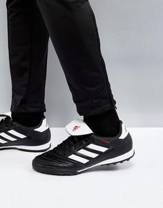 Черные кроссовки adidas Football Copa 17.3 Astro Turf BB0855 - Черный
