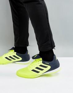 Желтые футбольные бутсы для игры в зале adidas Copa Tango 17.3 S77147 - Желтый