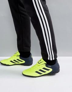 Желтые кроссовки adidas Football Copa 17.4 Astro Turf S77155 - Желтый