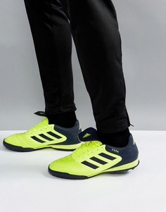 Желтые футбольные бутсы adidas Copa Tango 17.3 Astro Turf BB6099 - Желтый
