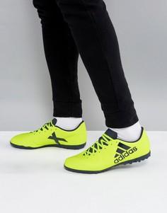 Желтые кроссовки adidas Football X 17.4 Astro Turf S82415 - Желтый