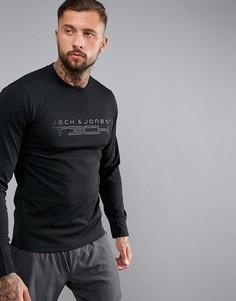 Спортивный свитшот Jack & Jones Tech - Черный