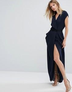 Платье макси Y.A.S Macy - Синий