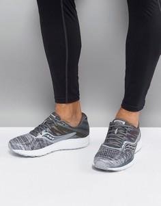 Серые кроссовки Saucony Running Runlife Chromaflex Ride 10 S20373-20 - Серый