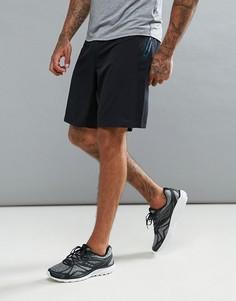 Черные эластичные шорты Saucony Running Runlife - Черный