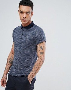 Темно-синяя футболка-поло ASOS - Темно-синий
