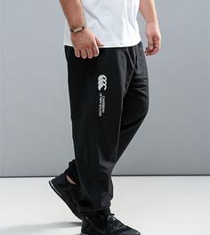 Черные спортивные брюки с манжетами Canterbury PLUS Stadium E513106-989 - Черный