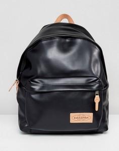 Бежево-черный рюкзак с уплотнением Eastpak PakR - Черный