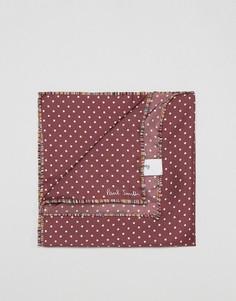 Платок для нагрудного кармана в горошек Paul Smith - Красный