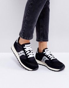 Черные кроссовки Saucony Jazz O - Черный
