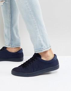 Синие кроссовки Fred Perry Underspin Ripstop - Синий