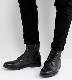 Кожаные ботинки на шнуровке Diesel Kallien - Черный