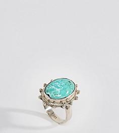 Серебристое кольцо Rock N Rose - Серебряный