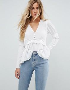 bbb5aba0da1 Купить женские блузки на пуговицах в интернет-магазине Lookbuck ...