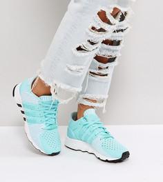 Кроссовки цвета морской волны adidas Originals EQT Support Rf Primeknit - Синий