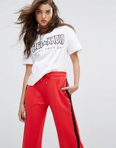 Укороченная футболка Gigi Hadid Rock Tour - Белый Tommy Hilfiger