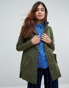 Легкая куртка в стиле милитари Vero Moda - Зеленый