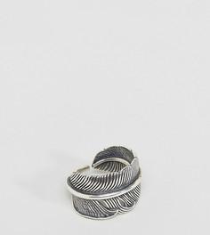 Серебряное кольцо с пером Serge DeNimes - Серебряный