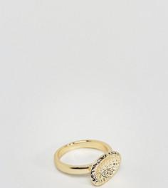 Позолоченное серебряное кольцо Serge DeNimes Bedrock - Золотой